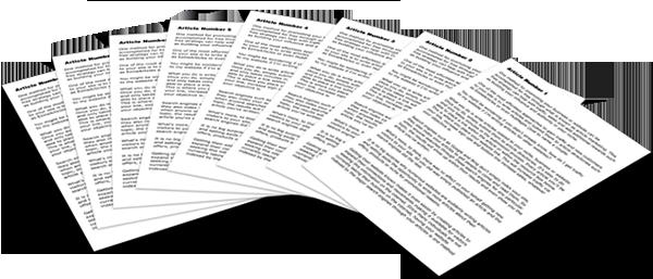 Originally Organic High-Quality PLR Articles