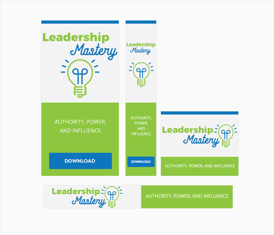 Leadership Influence Awesome High-Quality Advertising Banners