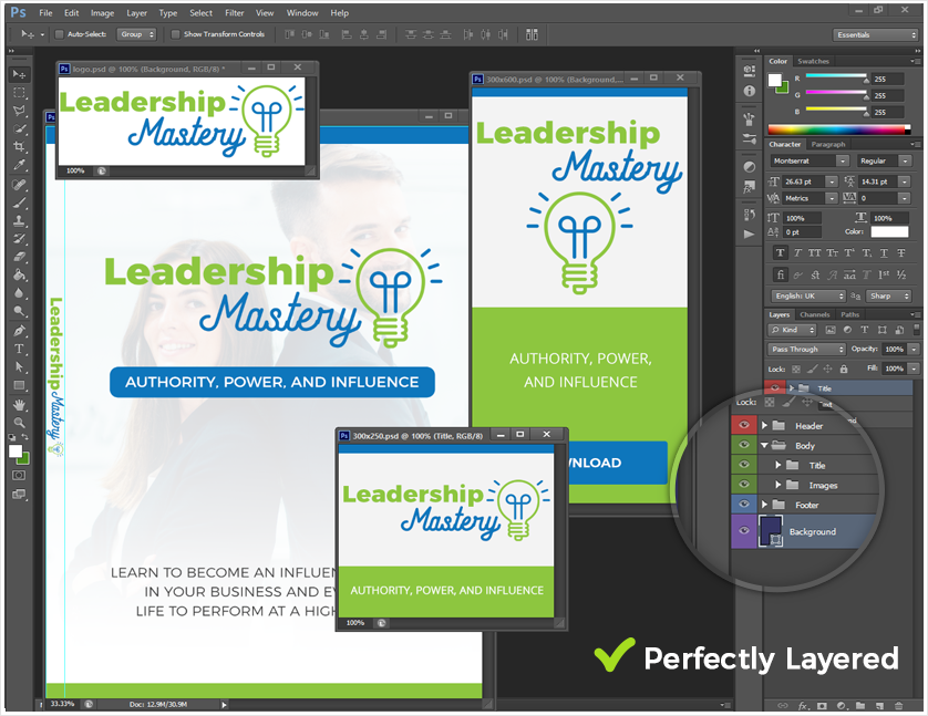 Leadership Influence Source Graphic Files