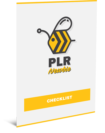 PLR Newbie Check List