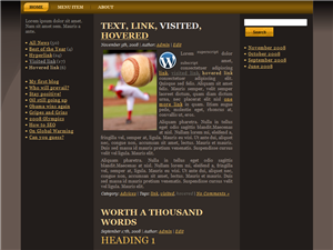 Golden Ball WP Theme