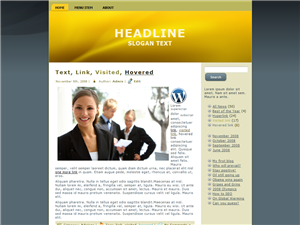 Golden Corpate WP Theme