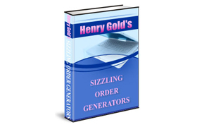 Henry Gold Sizzling Order Generators